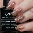 Rose Gold Sparkle Gellak