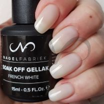 Soak Off Gellak French White 15 ml