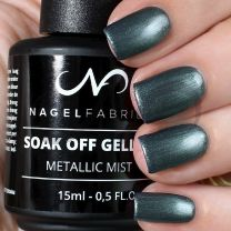 Soak Off Gellak Metallic Mist 15 ml