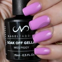 Soak Off Gellak Miss Piggy 15 ml