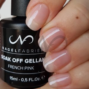 Soak Off Gellak French Pink 15 ml
