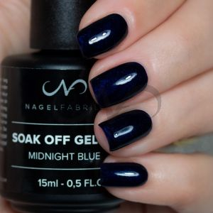 Soak Off Gellak Midnight Blue 15 ml