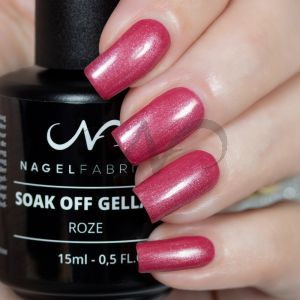 Soak Off Gellak Roze 15 ml