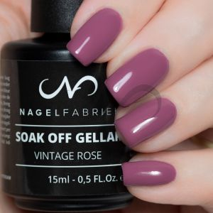 Soak Off Gellak Vintage Rose 15 ml