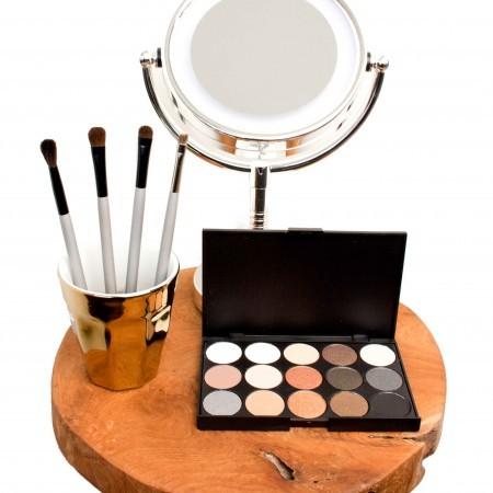 Tutorial - Eyeshadow Palette 15 Warm