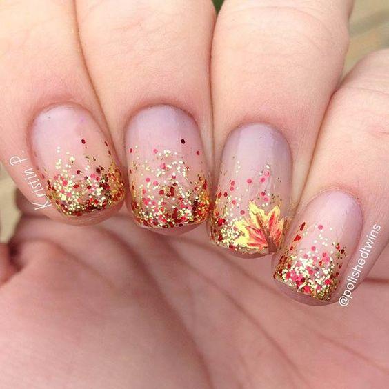 herfst-nail-art