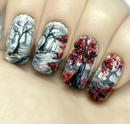 nail-art-herfst