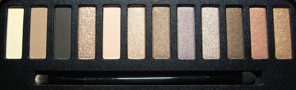 W7 Beat It Eyeshadow kleuren