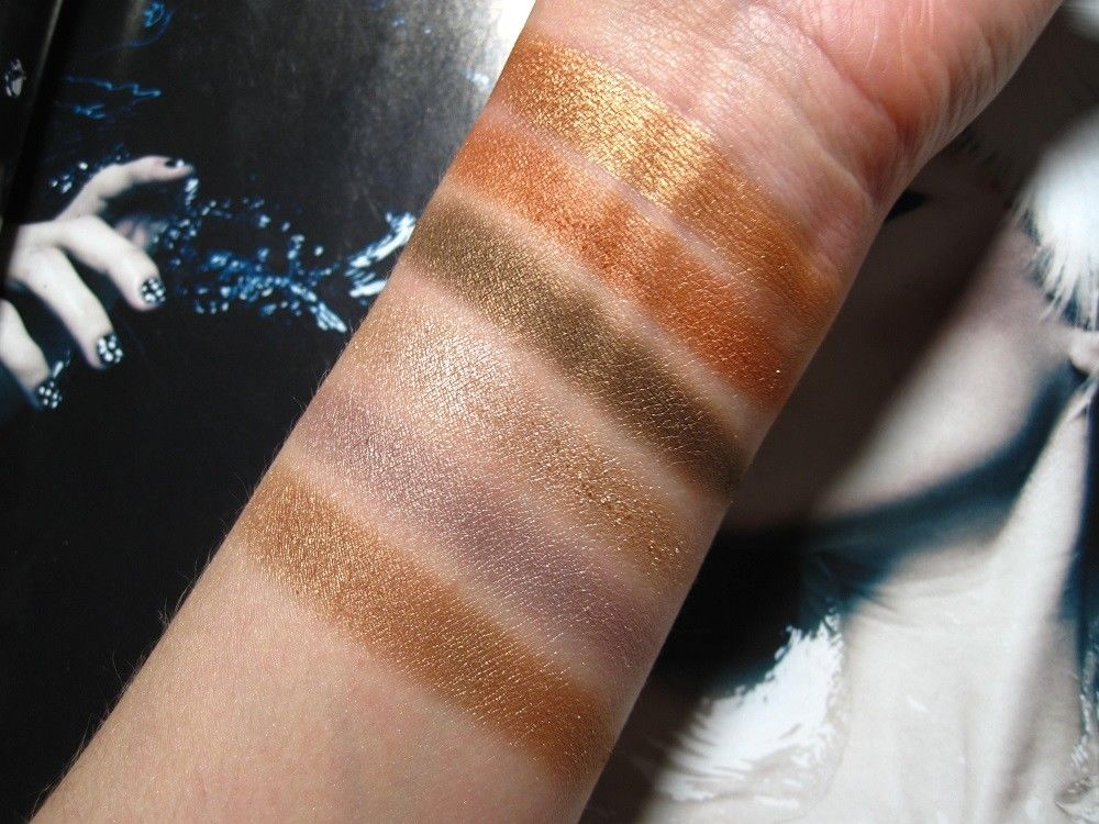 W7 Beat It! Swatches