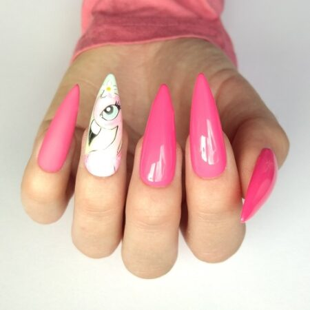 Nail Art met Gellak - Kim